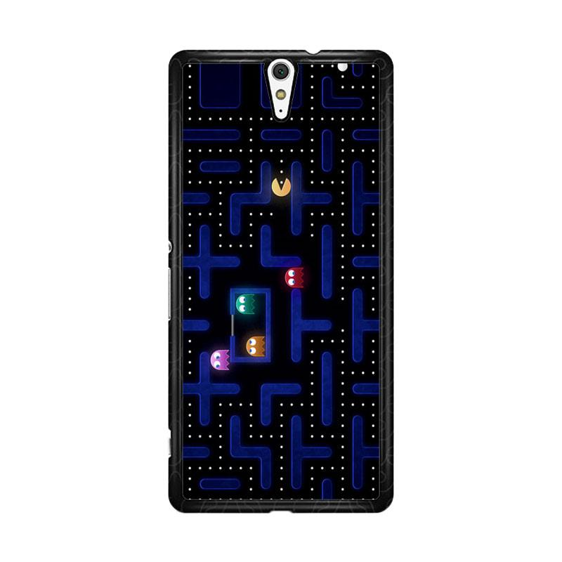 Flazzstore Pacman Game Z0602 Custom Casing for Sony Xperia C5 Ultra
