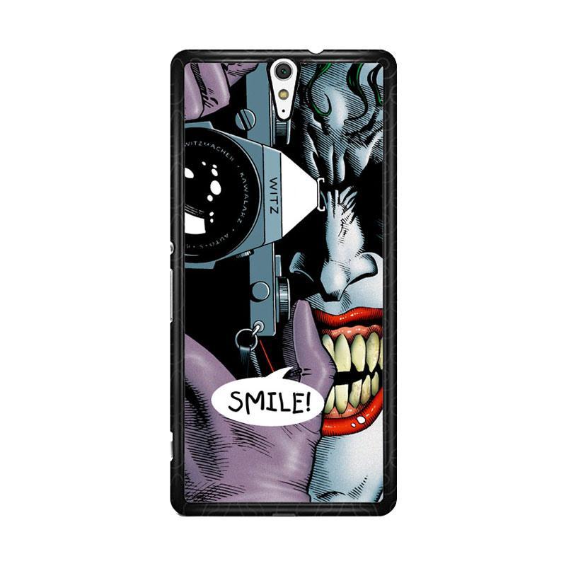 Flazzstore Joker Batman The Killing Joke F0835 Custom Casing for Sony Xperia C5 Ultra