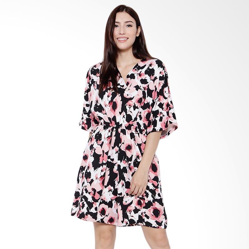 13439cfe25b Jual REE Mid Length Floral Jumpsuit Wanita - Multicolor Online ...