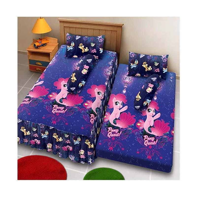 harga Kintakun D'luxe 2in1 Little Pony The Movie Set Sprei [120 x 200