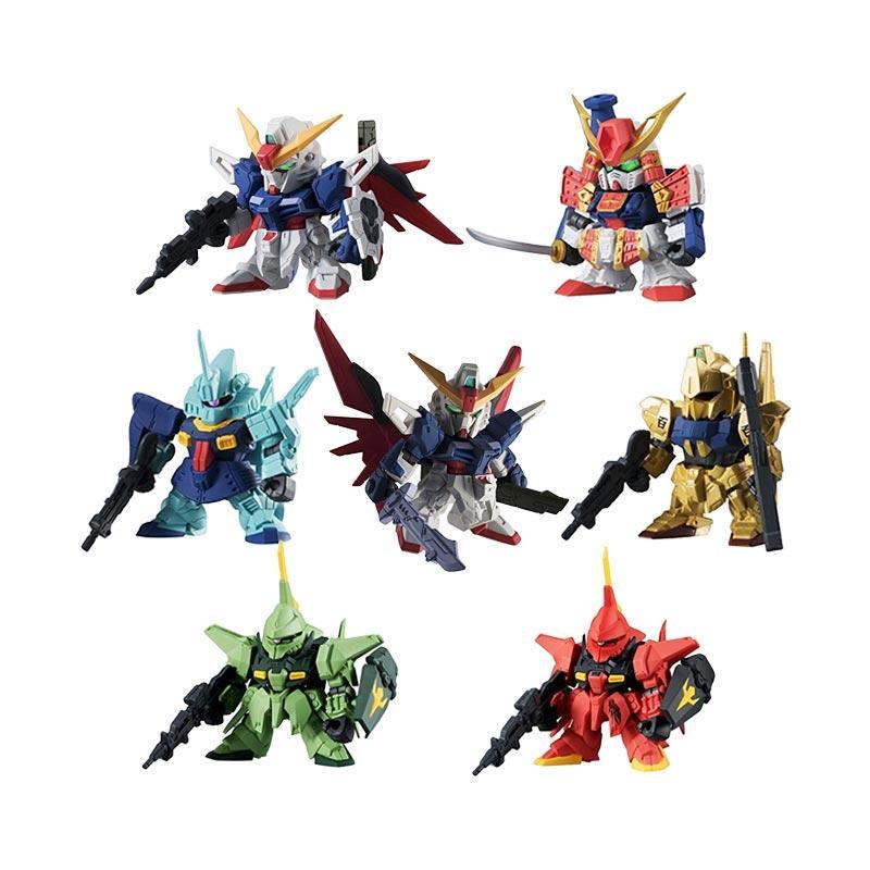 harga Bandai 0481541 Gashapon Gundam Senshi Forte 05 Model Kit Blibli.com
