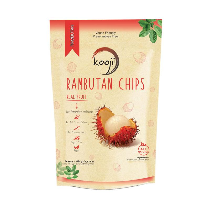 Kooji Healthy Rambutan Chips Snack
