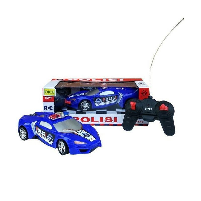 Jual Mainan Anak Laki Laki Mobil Remote Control Polisi Police Car Rc R C Online Februari 2021 Blibli