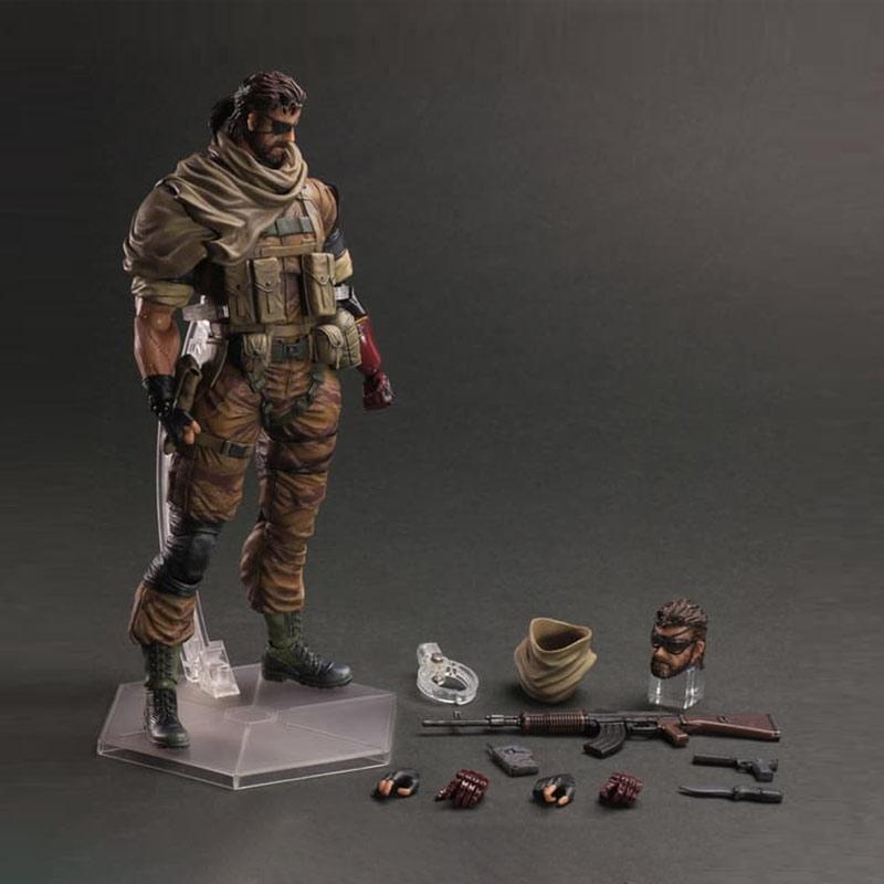 Play Arts Kai Metal Gear Solid V The Phantom Pain Venom Snake Action Figure
