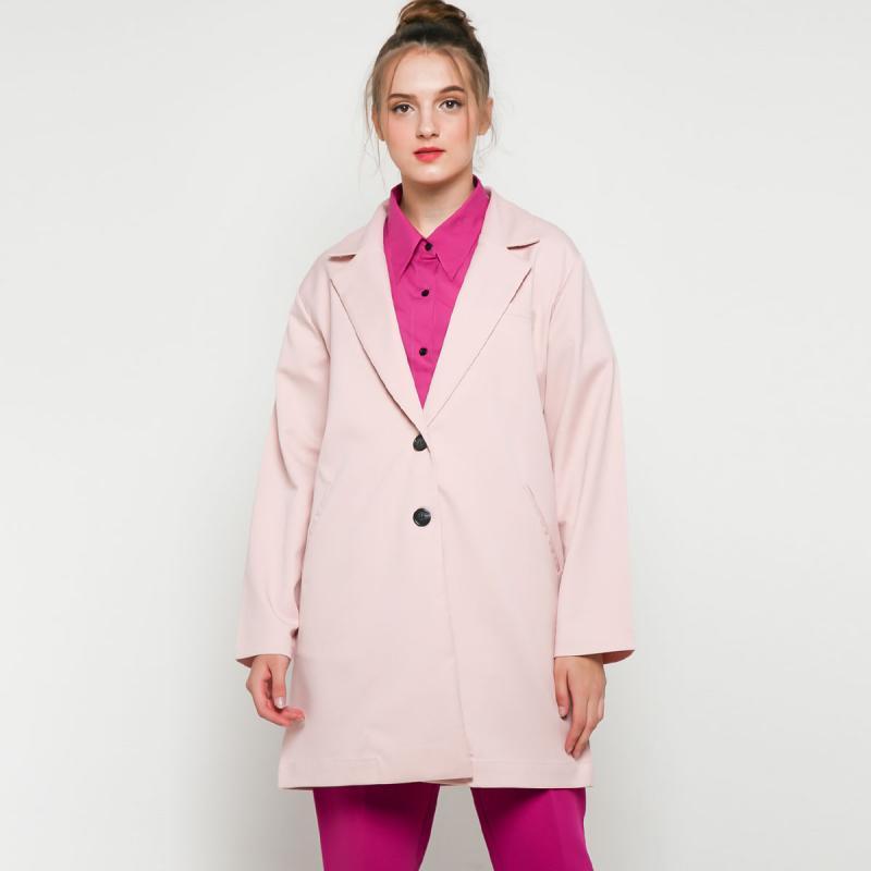 ATS The Label Keano Outerwear Bli06 Outer Wanita Blush