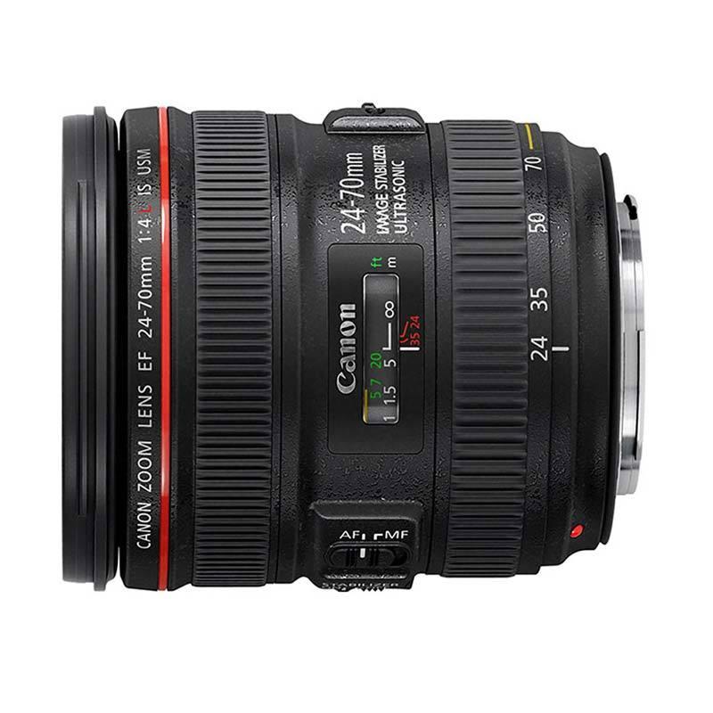 Canon EF 24-70mm f/4L IS USM Lensa Kamera