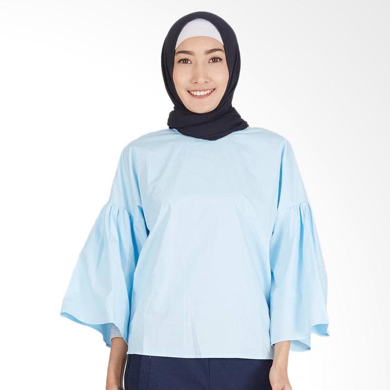 Hijabenka Rayzha Top - Baby Blue
