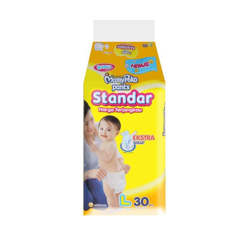 MamyPoko Standar Pants Popok [30 pcs/Size L]