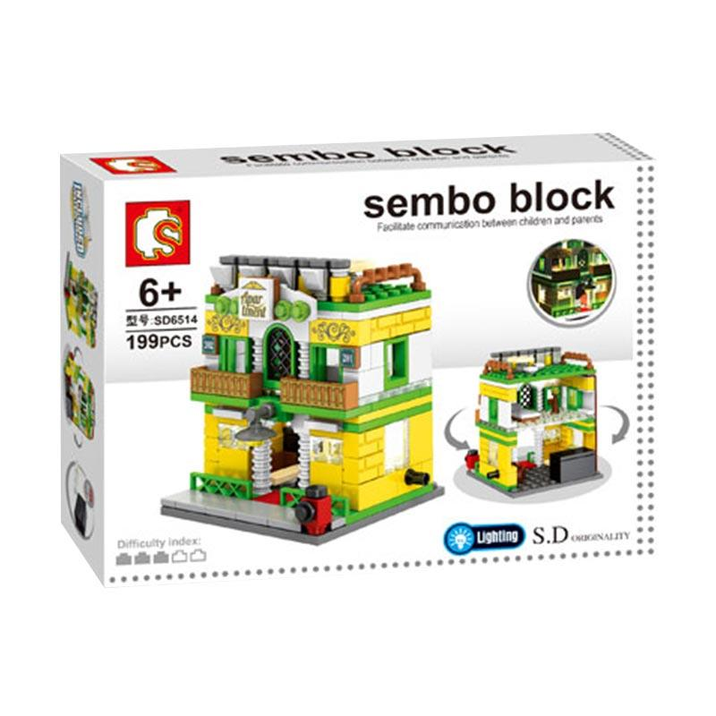 Sembo SD6514 Apartment Mini Blocks