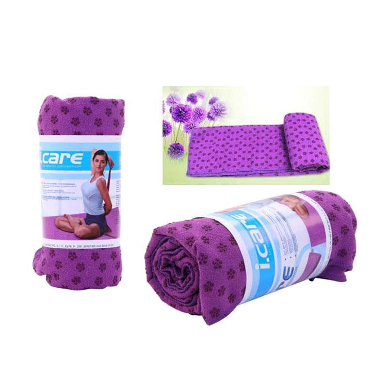 harga Toko Alat Fitnes I Care Yoga Mat Towel Blibli.com