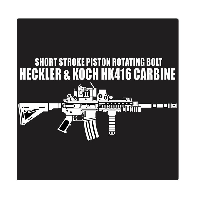 Kyle Heckler & Koch HK 416 Cutting Sticker