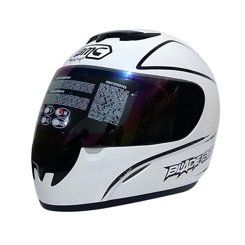 harga BMC Blade 200 Line Helm Full Face - White Black Blibli.com
