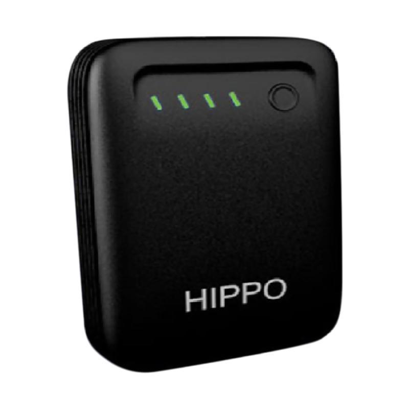 Hippo Minca Powerbank - Hitam [11200 mAh]