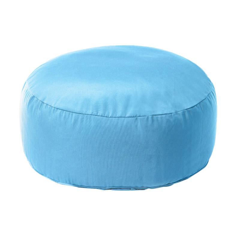 Prissilia Puff Bean Bag - Blue