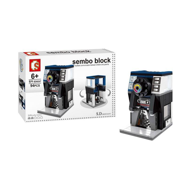 Sembo Sd6047 Camera Shop Mini Blocks
