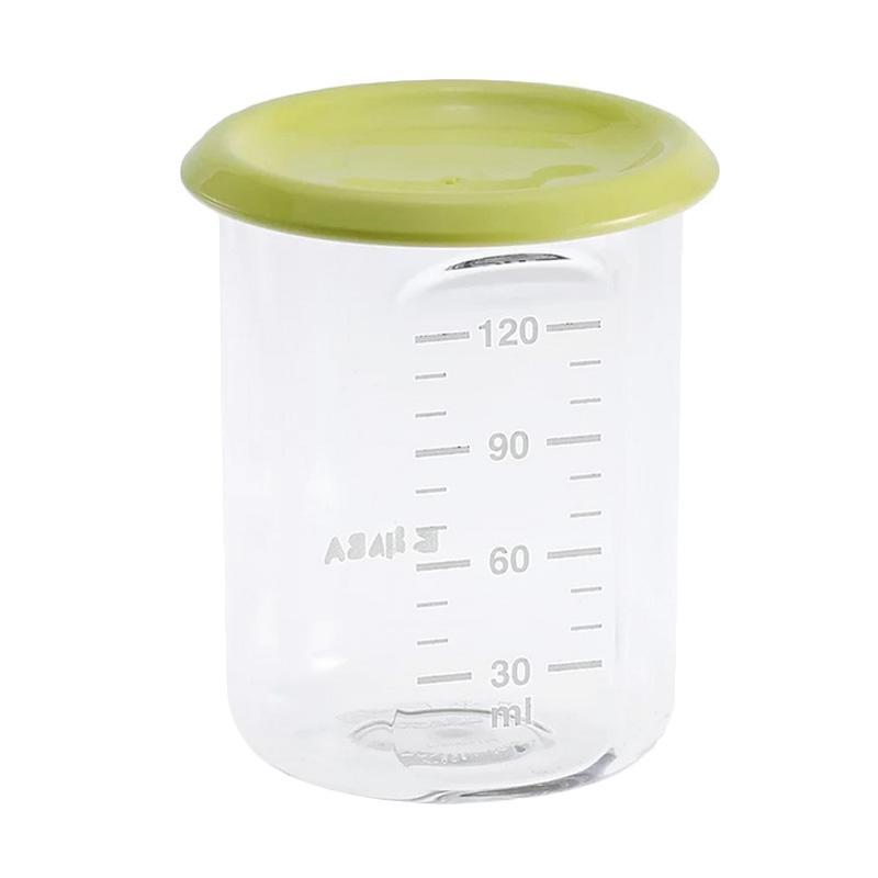 Beaba 912473 Food Jar Baby Portion [120 mL] - Neon