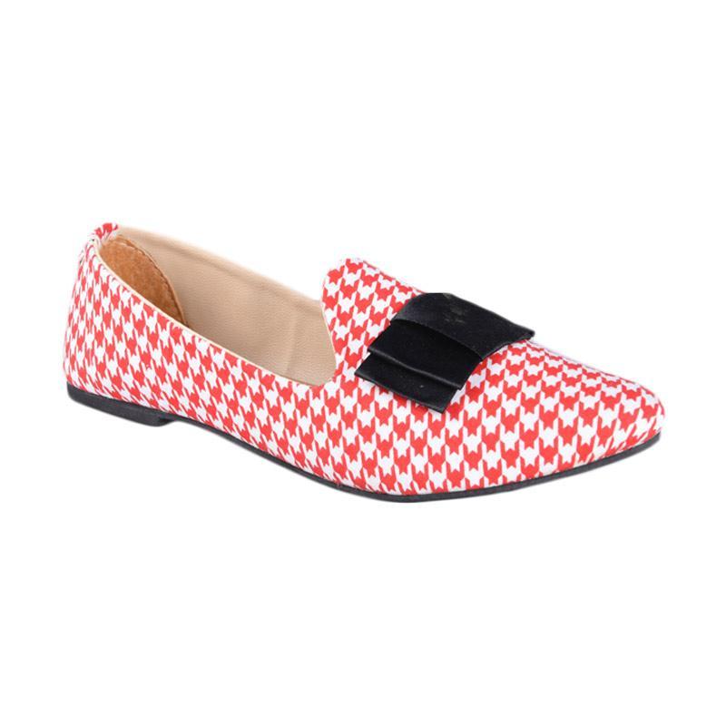 RSM SN-248 Sepatu Flat Wanita - Merah