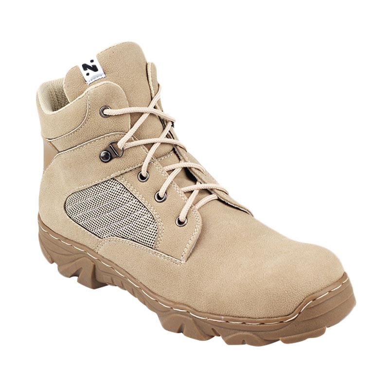 Navara Jose Safety Boots - Cream