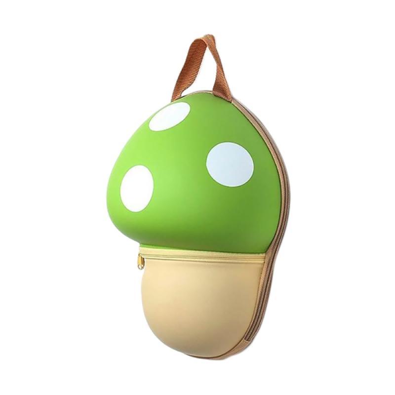 J&J Kids Mushroom Backpack - Green