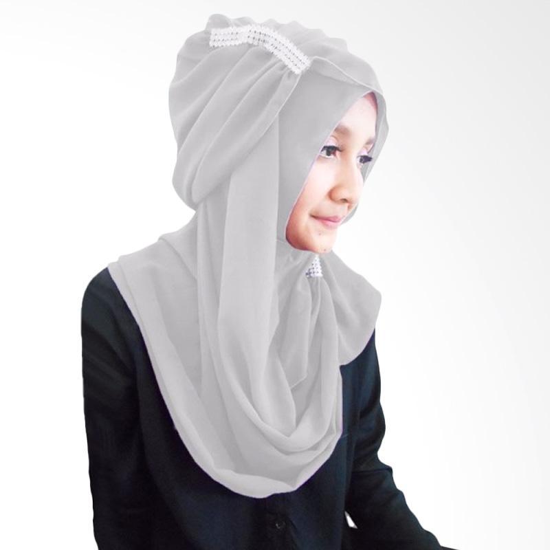 Milyarda Ring Hijab - Abu abu