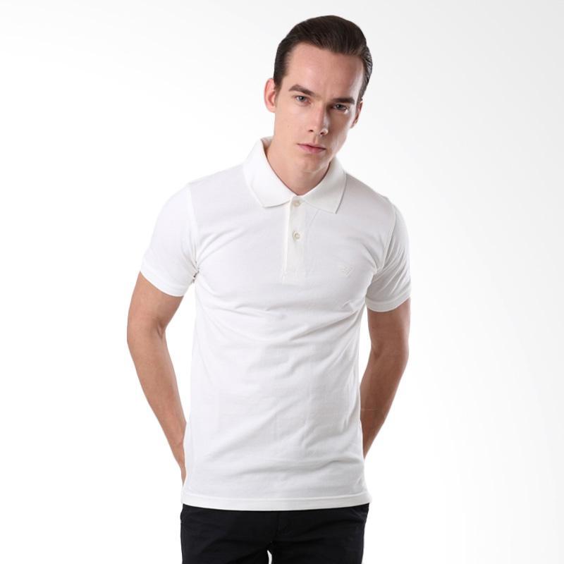 Efesu Men Polo Kemeja Pria - White Extra diskon 7% setiap hari Extra diskon 5% setiap hari Citibank – lebih hemat 10%
