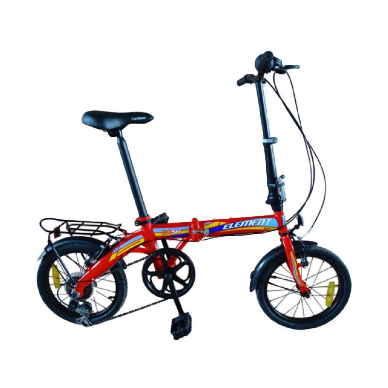 harga Element Dash Sepeda Lipat - Merah [16 Inch] Blibli.com