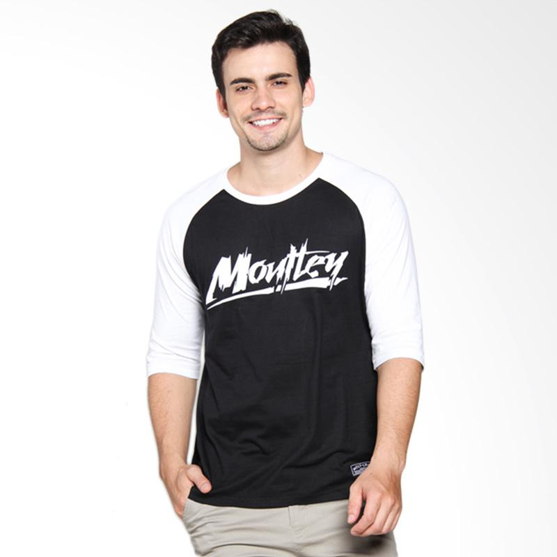 Moutley 320101612 Men T-Shirt - Black
