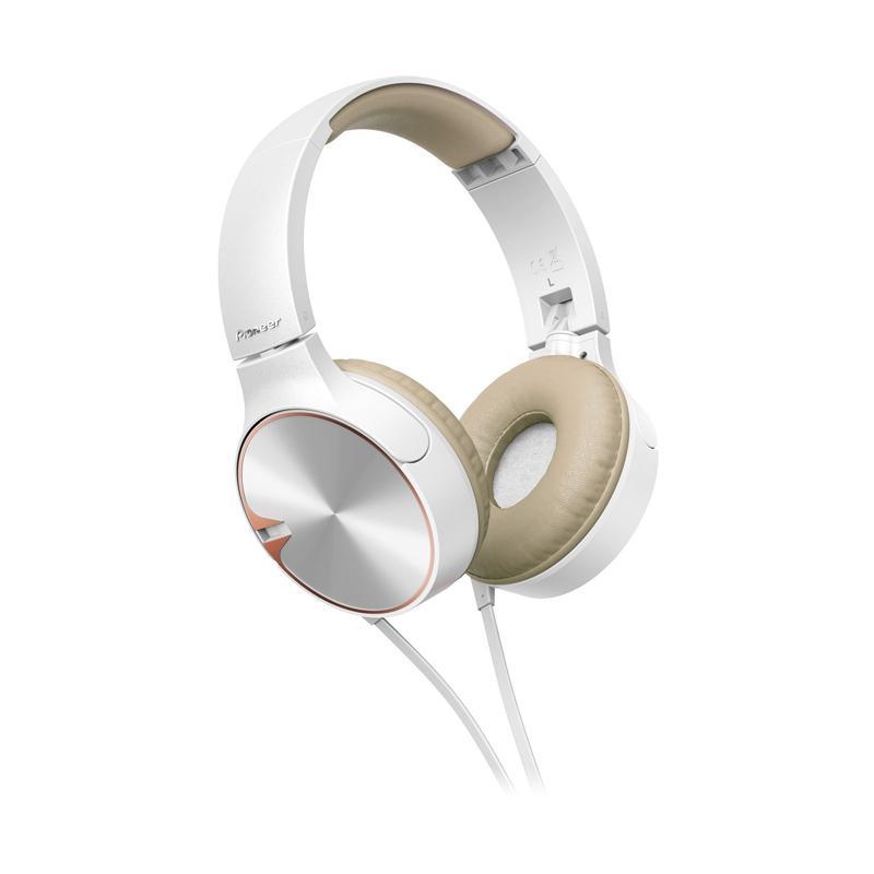 Pioneer SE MJ722T Headset - White
