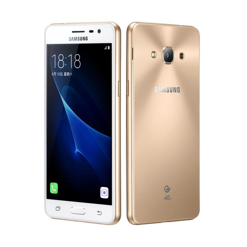 Samsung Galaxy J3 Pro Smartphone - Gold [16GB/ 2GB]