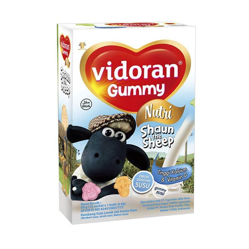 Vidoran Gummy Milk & Calcium [60 g]