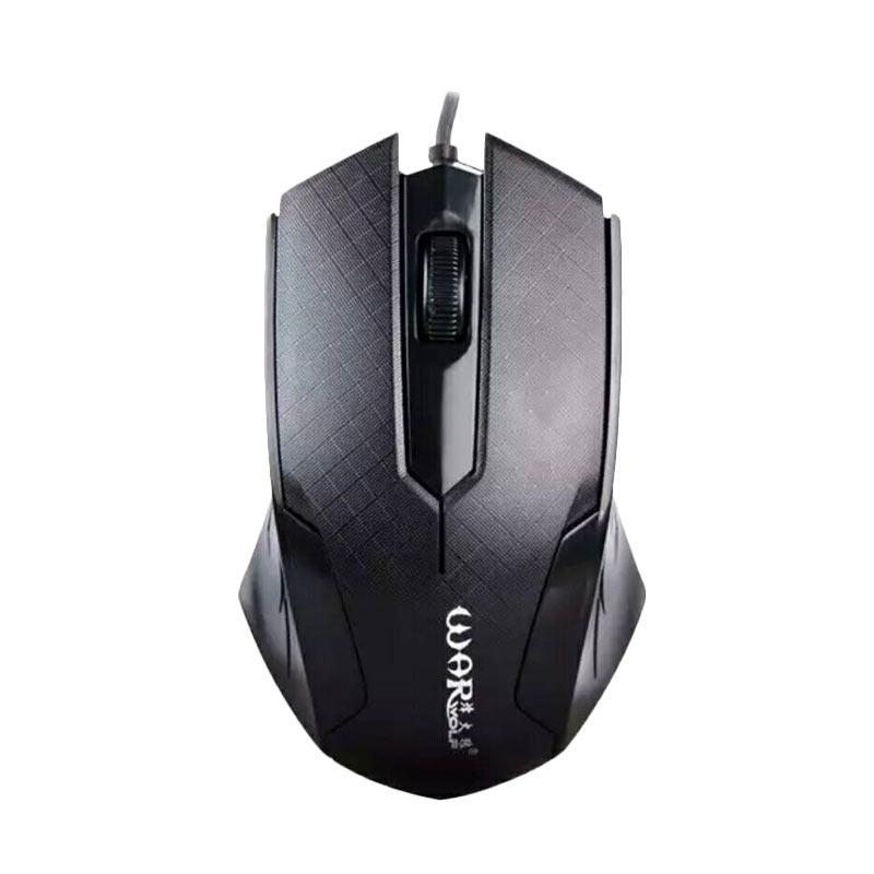 Warwolf M-510 Gaming Mouse - Black