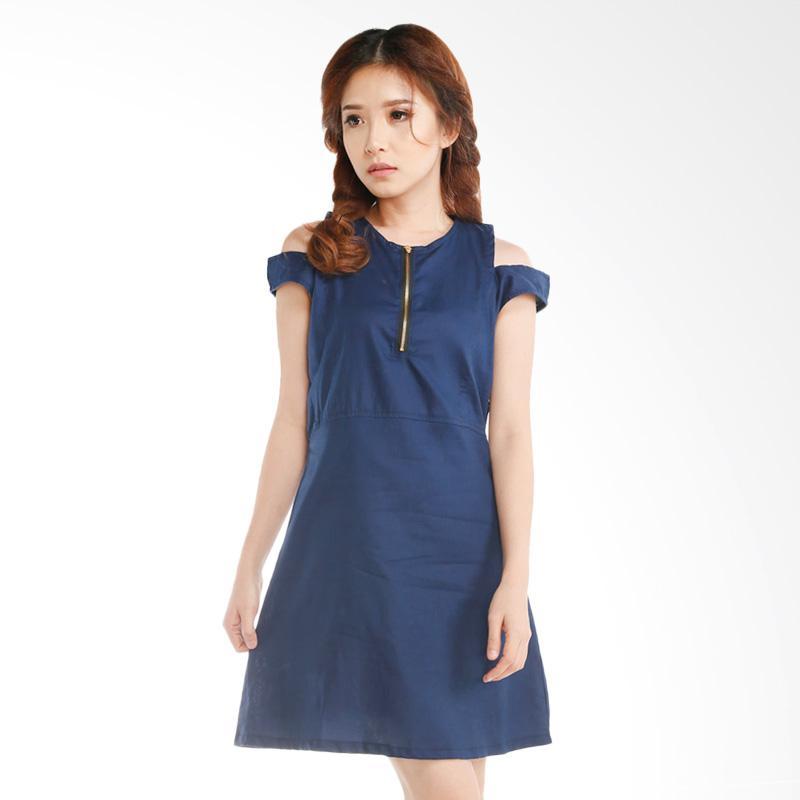 GatsuOne Noya Dress - Navy