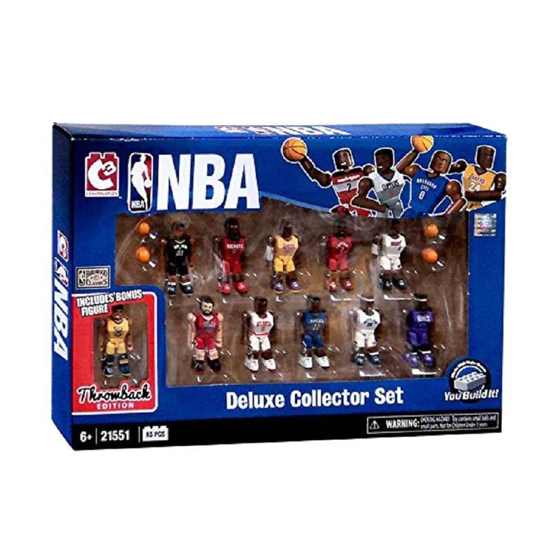 Rekomendasi Seller - NBA Deluxe Collector 11 Player Figure