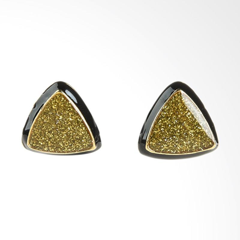 1901 Jewelry Triangle Studs 2681 GW.2681.HR44 Anting - Multicolor