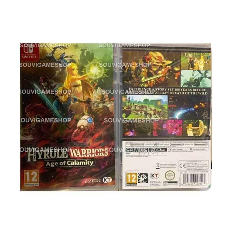 Jual Nintendo Switch Hyrule Warriors Age Of Calamity Eng Game Nintendo Online Desember 2020 Blibli