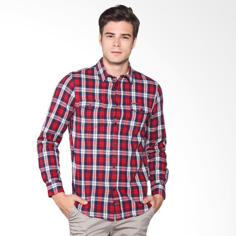 3SECOND Shirt Pria - Blue 105051711