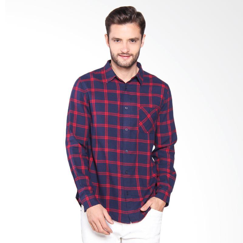 Greenlight Shirt Kemeja Pria - Blue 202061711
