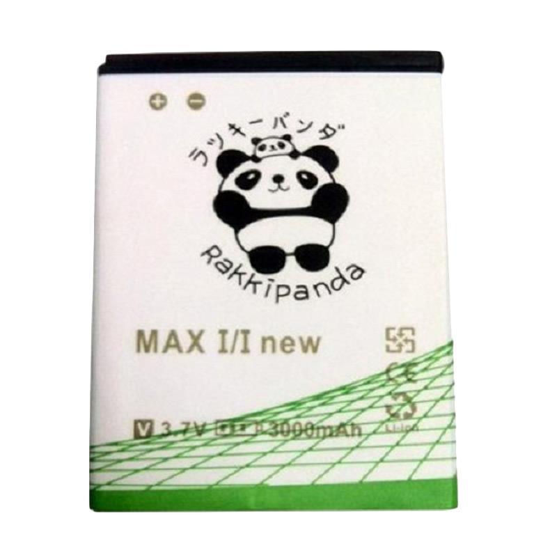 RAKKIPANDA Double Power IC Battery for Andromax Max I/I New