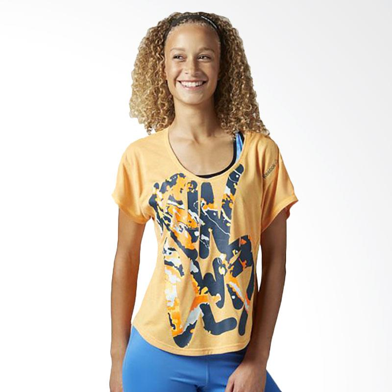 Reebok Workout SS Essentials Women's Tee Baju Olahraga Wanita BJ9970