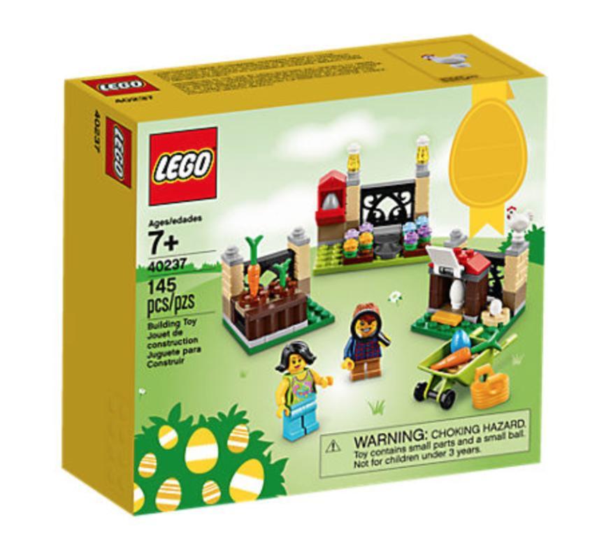 LEGO 40237 Easter Egg Hunt Seasonal Mainan Blok & Puzzle