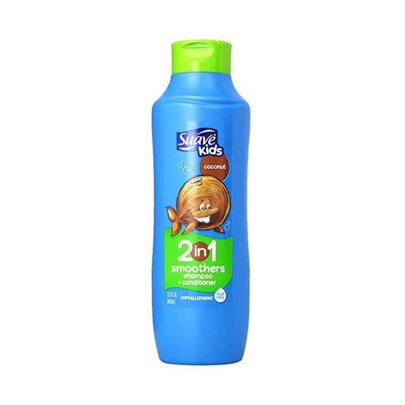Suave Kids Coconut 2in1 Shampoo and Conditioner [665 mL]