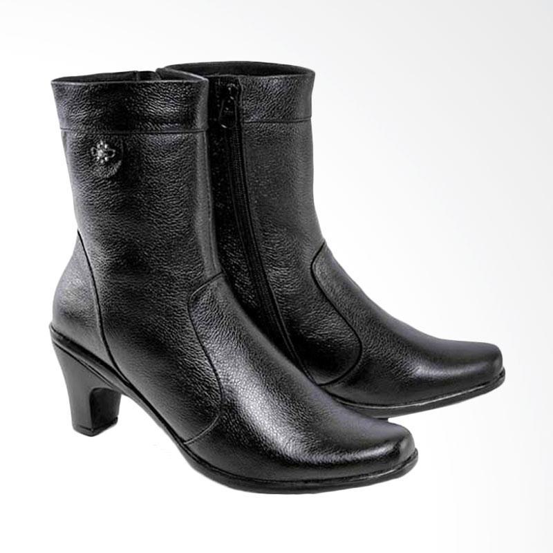 harga Spiccato Fashionable Women Trendy Boots Kulit A548 Sepatu Wanita - Hitam Blibli.com