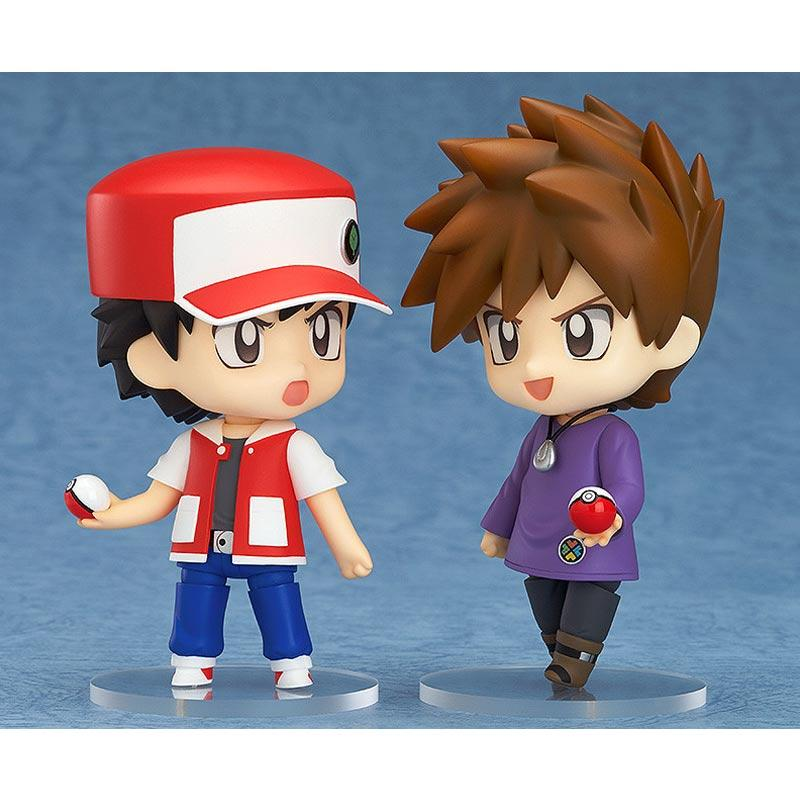 20th Anniversary F//S NEW Nendoroid Pokemon Trainer set Red /& Green special ver