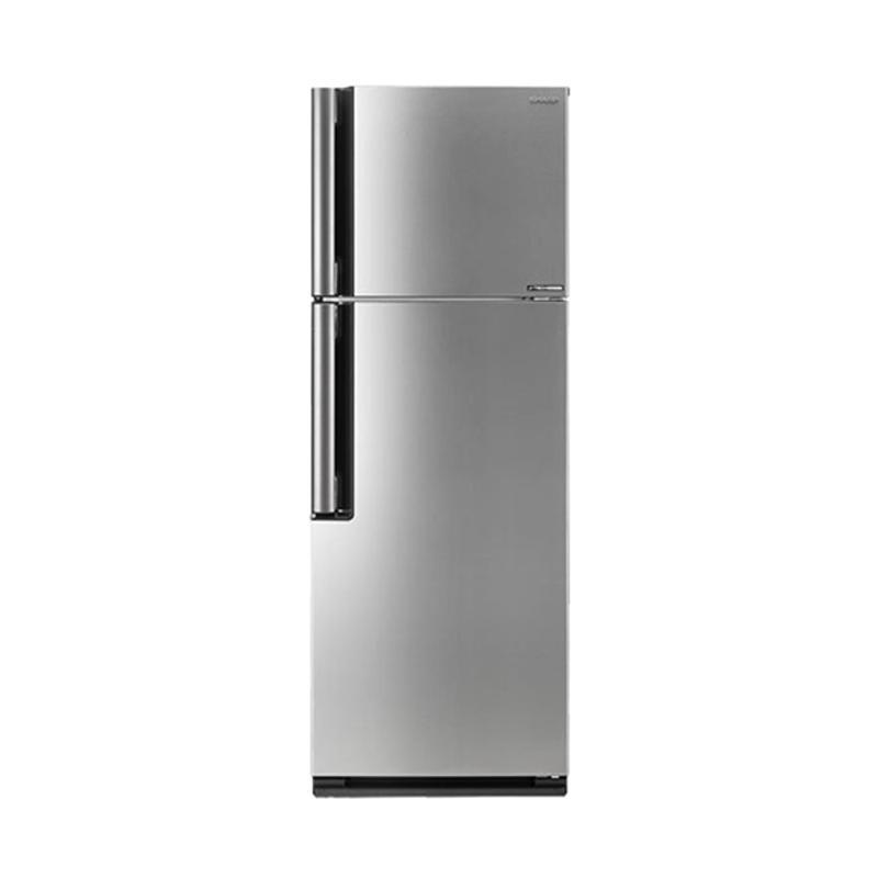 harga Sharp SJ-I470NLV-SL Inverter Series Kulkas [2 Pintu/420 Liter] Blibli.com