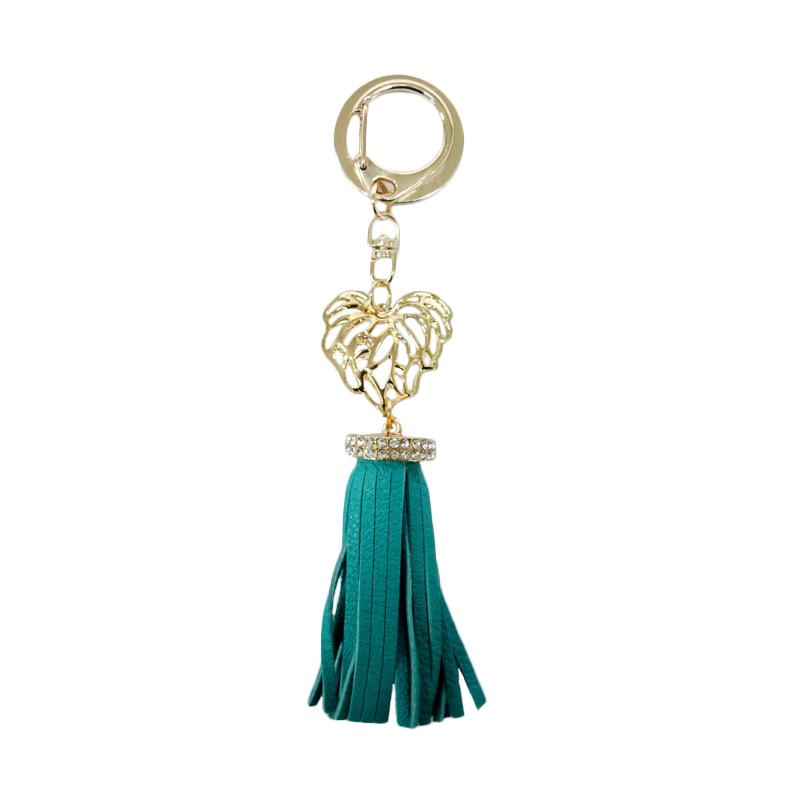 SIV Key Chain Leather Kulit S plus Diamond Gantungan Kunci - Tosca [KSL05]