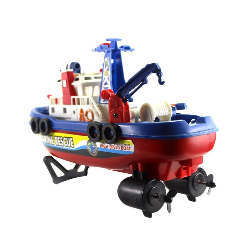 Jorell Extreme Super Rescue Boat Mainan Remote Control