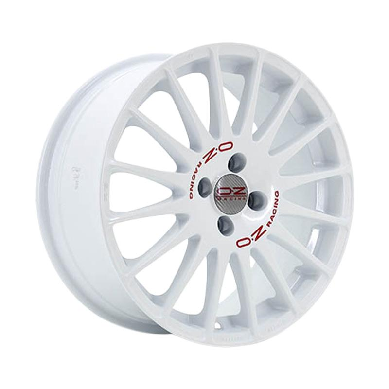 harga OZ Superturismo WRC R17x7-PCD4x100 Velg Mobil - White Red Lettering [Gratis Pasang] Blibli.com