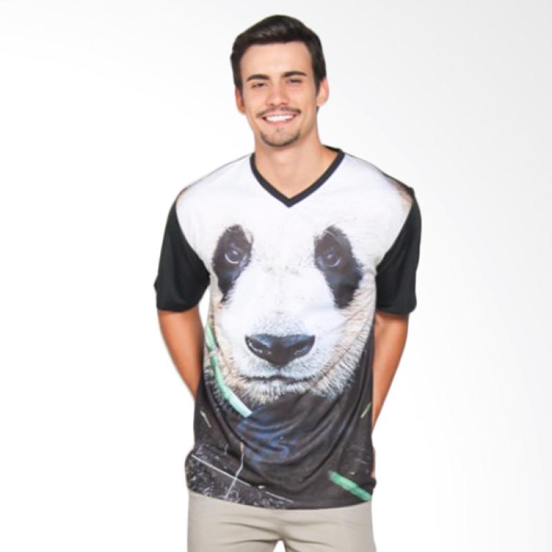 EpicMomo Panda2 T-Shirt - Black AD.00137
