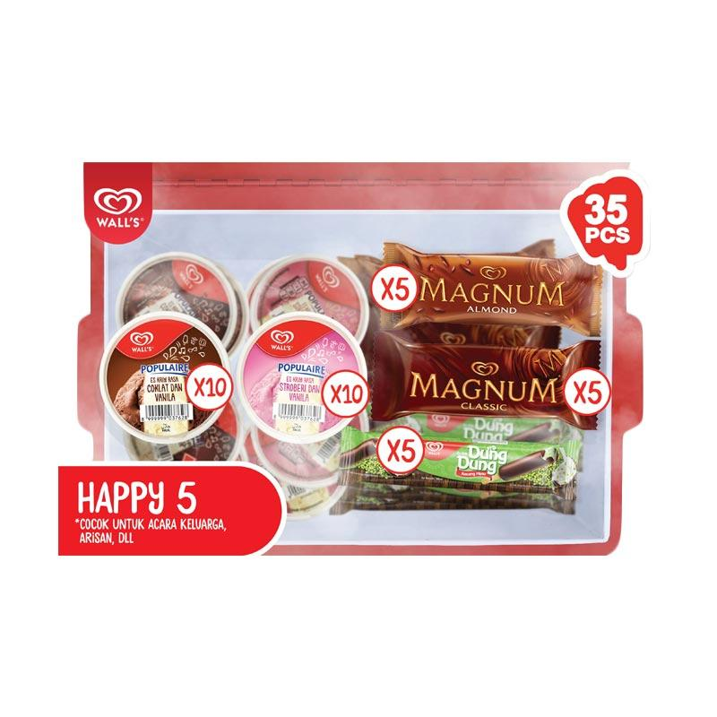 WALL'S Paket HAPPY 5 [Bandung]