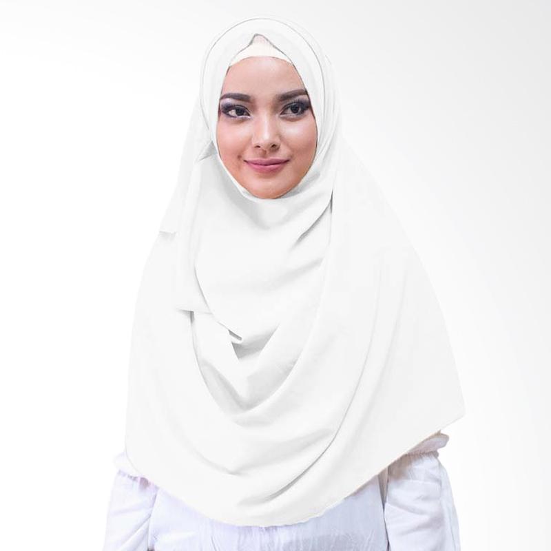 Milyarda Hijab Athaliali Hijab Instan - White